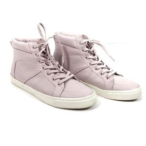 Lilac High Top Sneakers